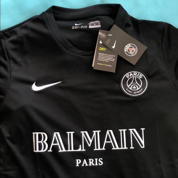 separation shoes d25dd ff6b7 Balmain Nike PSG exclusive authentic jersey NWT